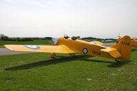 G-AKAT @ EGCJ - Miles M-14A Hawk Trainer 3 at Sherburn-in-Elmet in 2009. - by Malcolm Clarke