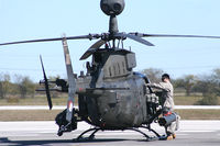 90-0353 @ JWY - US Army OH-58D at Midway Airport (Midlothian, TX)