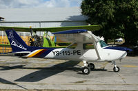 YS-115-PE @ MSSS - MSSS Ilopango airshow 2010