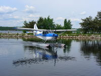 C-FHNQ - Taken from the Ignace Airways Dock, Ignace Ontario, Canada - by Melissa Cunningham