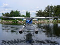 C-FHNQ - Take from the Igance Airways Dock, Ignace, Ontario Canada - by Melissa Cunningham