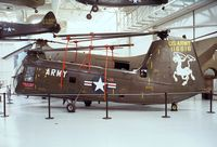 51-16616 - Piasecki (Vertol) H-25A Army Mule of the US army aviation at the Army Aviation Museum, Ft Rucker AL
