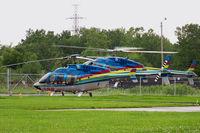 C-FLYD @ CPQ3 - Niagara Falls Heliport - by Tomas Milosch