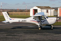 G-JABS @ EGBO - Heading for parking after a visit to the pumps. - by MikeP