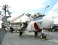 162185 - On loan from the National Museum of Naval Aviation, this A-6F Intruder prototype currently resides on the USS Intrepid. - by Daniel L. Berek