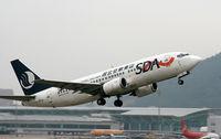 B-2961 @ ZGSZ - Shandong Air - by Dawei Sun