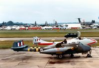 G-BLKA @ EGVA - Another view of WR 410 on the flight-line at the 1987 Intnl Air Tattoo at RAF Fairford. - by Peter Nicholson