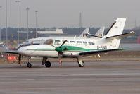 G-FIND @ EGBB - Cessna 406 on Elmdon ramp at BHX