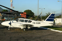 YS-02N @ MSSS - MSSS Displayed in the parking lot of Museo Nacional De Aviacion Ilopango AFB
