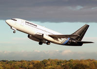 G-CEAI @ EGCC - European Air Charter - by vickersfour