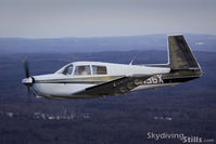 N3436X @ ORE - Shot during a 6-plane formation flight over Orange, MA - by Dave G
