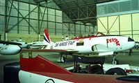 1930 @ LPBJ - Lockheed T-33A Shooting Star [580-9093] Beja~CS 05/05/2000. Seen in storage hangar at Beja Air Force base. - by Ray Barber