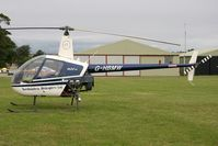 G-HBMW @ FISHBURN - Robinson R-22 at Fishburn Airfield in 2008. - by Malcolm Clarke