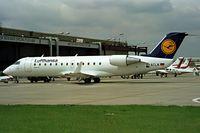 D-ACLN @ EDDB - Canadair CRJ-100LR [7039] (Lufthansa Regional) Berlin-Schonefeld~D 31/05/1994. Seen at the Berlin Air Show Schonefeld Germany 1994. - by Ray Barber