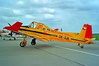 OK-XJA @ EDDB - Zlin Z.137T Agro Turbo [046] Berlin-Schonefeld~D 31/05/1994. Seen at the Berlin Air Show Schonefeld Germany 1994.