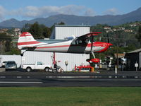 N8250A @ SZP - 1952 Cessna 170B, Continental C-145-2 145 Hp, landing Rwy 04 - by Doug Robertson