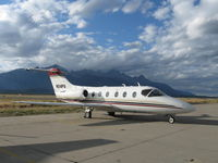 N214PG @ KJAC - Grand Teton and The One Fly - by skykingtim