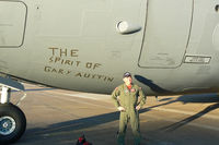 97-0046 @ EFD - USAF C-17 at the 2009 Wings Over Houston Airshow - Temporary dedication to the late CAF maintainance chief GAry Austin. - by Zane Adams