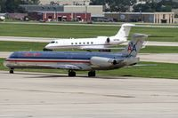 N426AA @ KSAT - taxying to the active