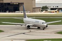 N31412 @ KSAT - taxying to the gate