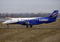 G-MAJP @ EGBB - Eastern Bae41 Jetstream taxies out at BHX - by Terry Fletcher