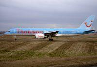 G-BYAO @ EGBB - Thomson / TUI B757 at BHX