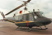 69-6607 @ EGVA - UH-1N Iroquois, callsign Spar 81, of the 67th Air Rescue and Recovery Squadron on display at the 1987 Intnl Air Tattoo at RAF Fairford. - by Peter Nicholson