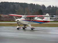 C-GWAV - 53 piper tri pacer at Courtenay Air Park - by Tim Kerr