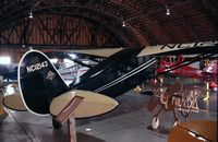 N12143 - Stinson JR. S at the Arkansas Air Museum, Fayetteville AR