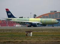 F-WWYS @ LFBO - C/n 1095 - For US Airways - by Shunn311