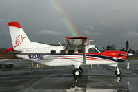 N104MF @ KPAE - KPAE another Kodiak straight from the paint shop