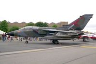 MM7042 @ EGXW - Panavia Tornado IDS. From 6º Stormo, Ghedi at RAF Waddington's Air Show in 1995. - by Malcolm Clarke