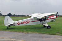 G-ARGV @ X4PK - Piper PA-18-150 Super Cub (Mod) at Pocklington, N Yorks in 2005. - by Malcolm Clarke