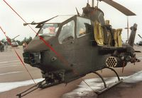 68-17067 @ EGVA - AH-1F HueyCobra of the US Army's 220th AHC on display at the 1987 Intnl Air Tattoo at RAF Fairford. - by Peter Nicholson