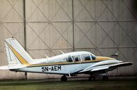 5N-AEM @ CVT - PA-23 Aztec 250 seen at Coventry Airport in September 1972 retained Nigerian markings until at least 1975. - by Peter Nicholson
