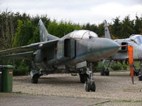 23 - Mikoyan Guerevich Mig23UB Flogger 23 East German Air Force of the PS Aero collection in Kessel (PH) - by Alex Smit