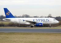 5B-DBO @ EGCC - Cyprus Airways - by vickersfour