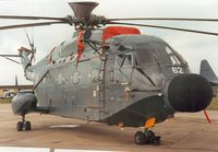 162 @ EGVA - Another view of the 32 Flotille Super Frelon on display at the 1987 Intnl Air Tattoo at RAF Fairford. - by Peter Nicholson