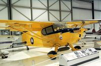 N957DW - Stinson 10A at the Heritage Halls, Owatonna MN - by Ingo Warnecke