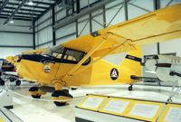 N957DW - Stinson 10A at the Heritage Halls, Owatonna MN