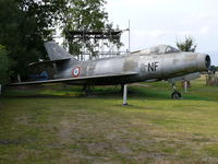 84 @ EGKH - Dassault MD452A Mystere 4 84/8-NF French Air Force in the Lashenden Air Warfare Museum - by Alex Smit