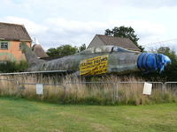 63938 @ EGKH - North American F-100F Super Sabre 56-3938/11-EZ French Air Force in the Lashenden Air Warfare Museum - by Alex Smit