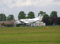 G-WVIP @ EGSC - Landing at Cambridge - by Andy Parsons