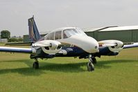 N37LW @ FISHBURN - Piper PA-23-250 Aztec at Fishburn Airfield in 2006. - by Malcolm Clarke