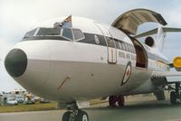 NZ7272 @ EGVA - Another view of the Boeing 727 of 40 Squadron Royal New Zealand Air Force on display at the 1987 Intnl Air Tattoo at RAF Fairford. - by Peter Nicholson