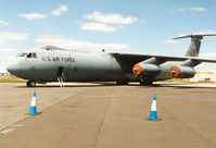 66-0201 @ EGVA - C-141B Starlifter of 452nd Airlift Wing at March AFB on display at the 1995 Intnl Air Tattoo at RAF Fairford. - by Peter Nicholson
