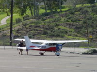 N658SP @ POC - Parked in transient parking - by Helicopterfriend