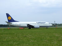 D-ABXW @ EGPH - Lufthansa 6PM Arrives at EDI From FRA - by Mike stanners