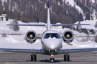 OE-GEM @ LSZS - Jet Alliance Cessna 680 Sovereign