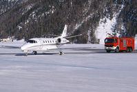 YU-SPA @ LSZS - Prince Aviation Cessna 560XL Citation Excel